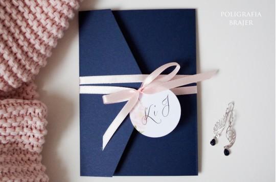 Zaproszenia ślubne kopertowe 2