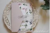 Zaproszenia ślubne kwiatowe