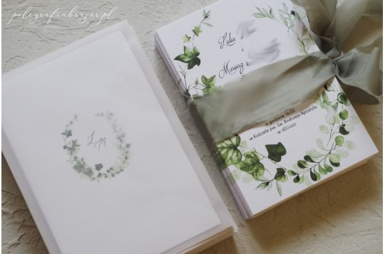 Zaproszenia ślubne z motywem kwiatowym