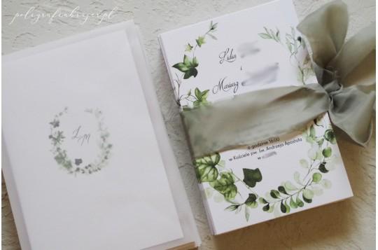 Zaproszenia ślubne ivy