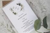 Zaproszenia ślubne leśny gaj